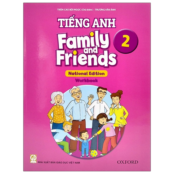 Tiếng Anh 2 – Family And Friends (National Edition) – Workbook