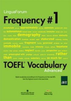 LinguaForum Frequency # 1 Toefl Vocabualary (Kèm 1CD)