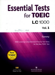 Essential Test For TOEIC LC 1000 Vol 1 (Kèm CD)