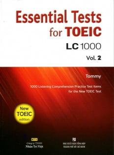 Essential Test For TOEIC LC 1000 Vol 2 (Kèm CD)