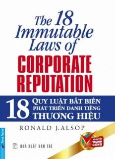 18 Quy Luật Bất Biến Phát Triển Danh Tiếng Thương Hiệu
