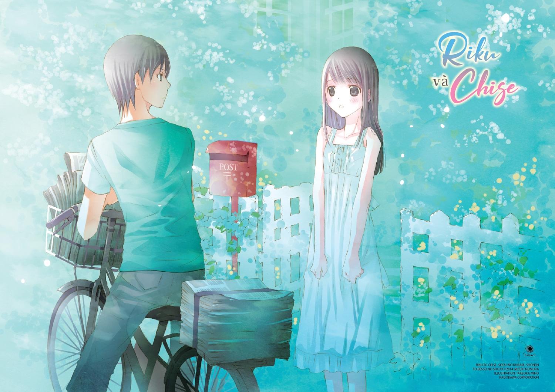 Quà Tặng Poster - Riku Và Chise - Chàng Trai Phân Chia Thế Giới Và Cô Gái Trong Biệt Thự