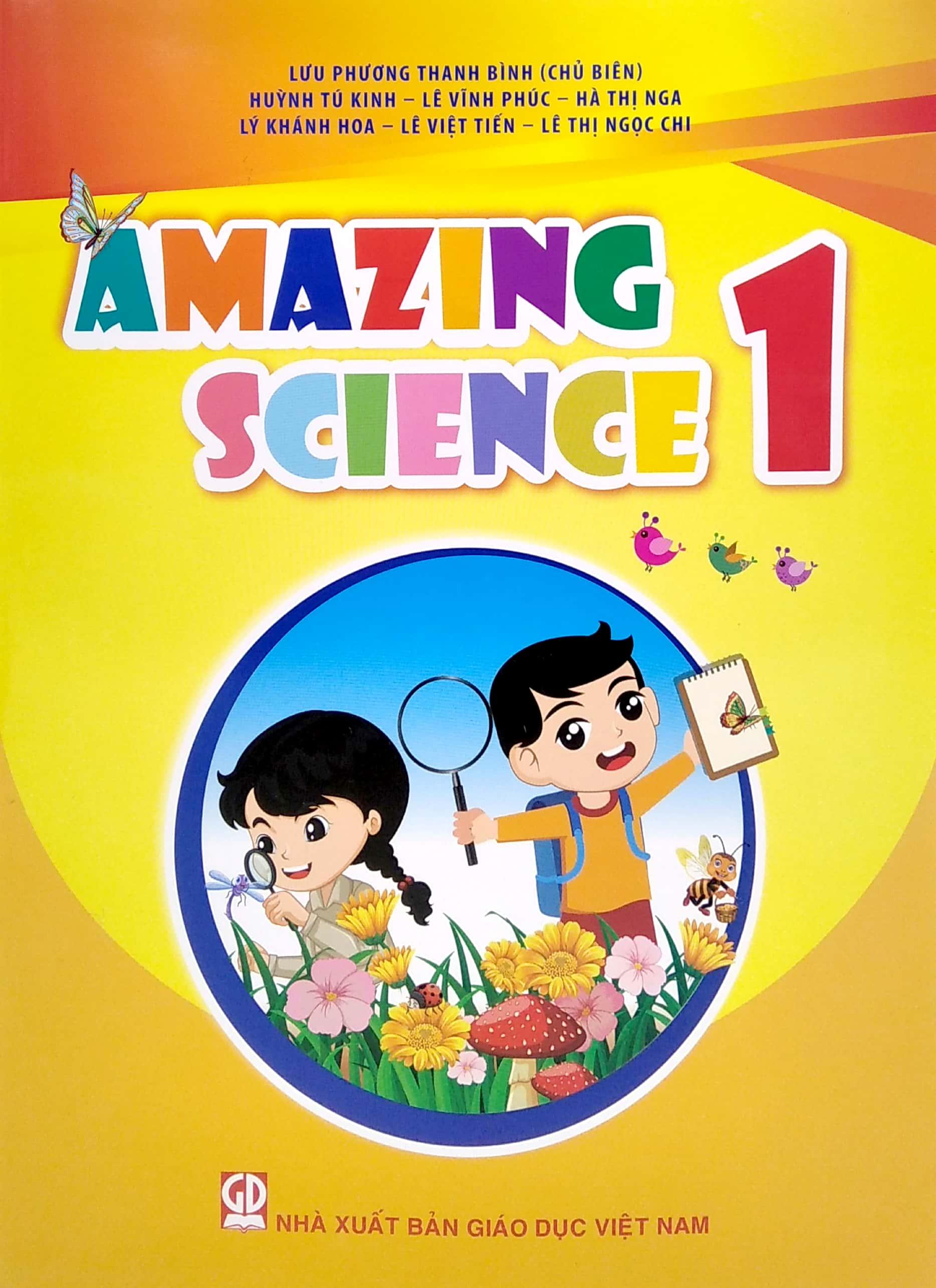 Sách Amazing Science 1 - FAHASA.COM