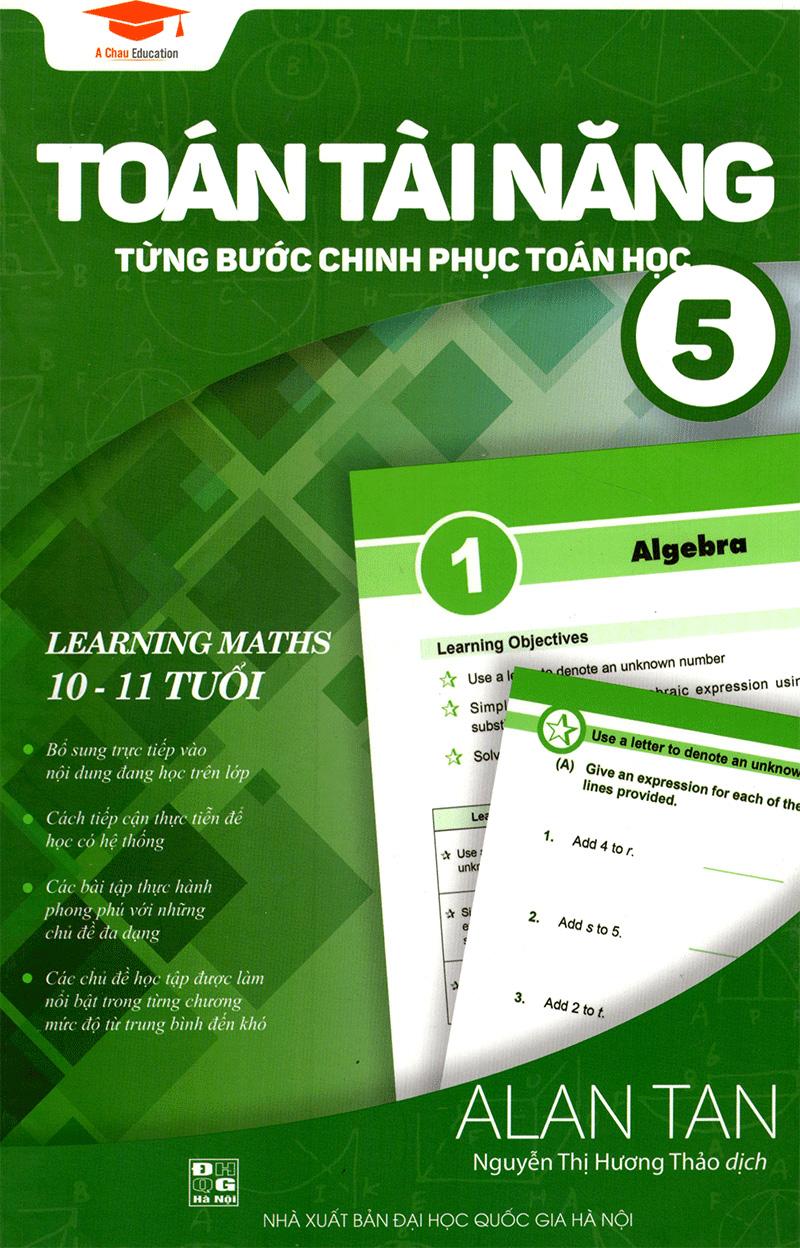 Sách Toán Tài Năng 5 - Từng Bước Chinh Phục Toán Học - FAHASA.COM