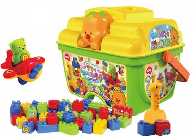 Bộ đồ chơi xếp hình cho bé 3 tuổi