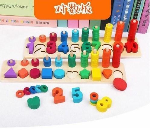 Đồ chơi đếm số bằng gỗ